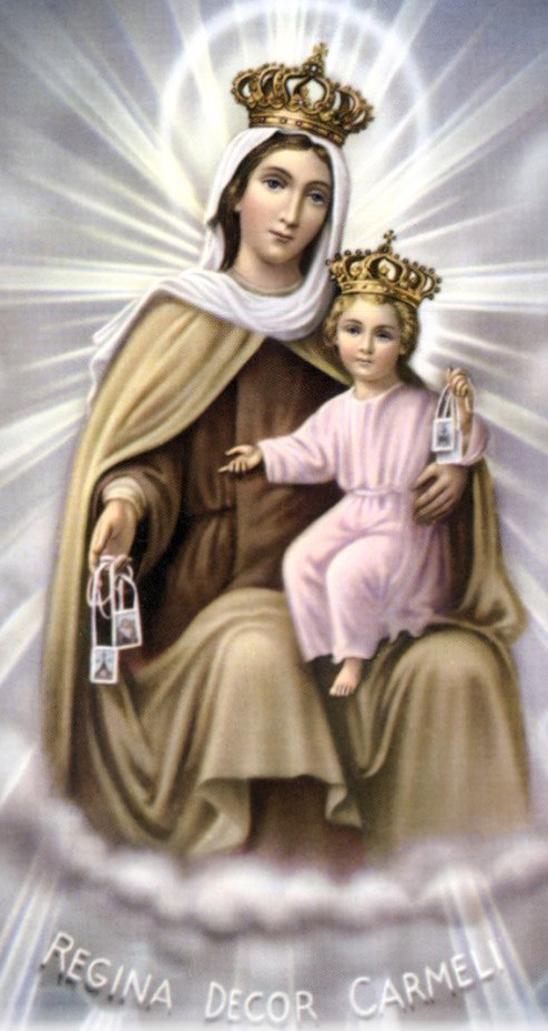 Mount Carmel and Our Lady of Mount Carmel